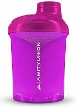 Women's Protein Shaker 400 ml Pink Deluxe -