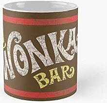 Wonka Bar Willy The Chocolate Factory Classic Mug