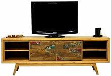 WOOD - Meuble TV Scandinave 180 cm