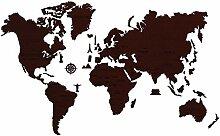 Wooden City - Puzzle en bois - Carte du Monde -