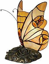 World Art TWAB08014 Papillon Abat Jour Lampe de