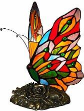 World Art TWAB08015 Papillon Abat Jour Lampe de