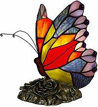 World Art TWAB08017 Papillon Abat Jour Lampe de