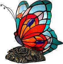 World Art TWAB08019 Papillon Abat Jour Lampe de