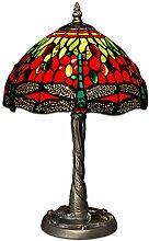 World Art TWGD10122 Chevet Libellule Lampe de
