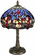 World Art TWGD10244 Chevet Libellule Lampe de