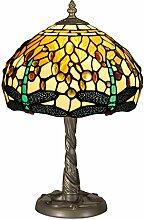 World Art TWGD10511 Chevet Libellule Lampe de