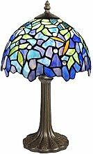 World Art TWGW10001 Wisteria Lampe de Table de