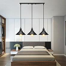 Wottes - Industriel Lustre Suspension 3 Luminaires