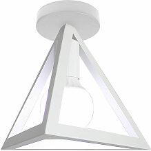 Wottes - Plafonnier Abat-jour Triangle Suspension