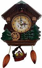 WOVELOT Horloge Murale De 8 Pouces en Forme De