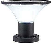 WRMING Borne Lumineuse Exterieur Solaire, 5W LED