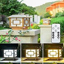 WRMING LED Lampadaire Solaire Lampe Solaire Jardin