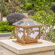 WRMING LED Lampe de Jardin Vintage Borne Lumineuse