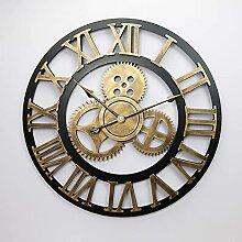 WSDDNXM Horloge Murale À Engrenages Industriels,