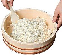 WSHA Bol de mélange de Riz Japonais Hangiri Sushi
