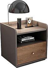 WSNBB Table de chevet moderne et simple, armoire