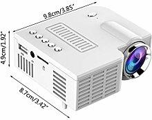 WT-YOGUET UC28C Mini vidéoprojecteur portable LCD