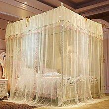 WUJIANCHAO 4 Corner Bed Canopy Mosquito Net Full
