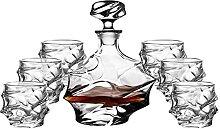 wutyxktts decanteur a vin Carafe vin Ensemble de