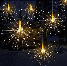 Wuudi Guirlande lumineuse à 20 LED clignotantes