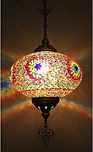 Wuyuesun Lampe pendante turque géniale,mosaïque