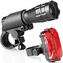 WXHXJY Lumière de vélo, LED Ultra Puissant Lampe