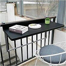 WXHXJY Table Basse Suspendue de Balcon