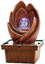 WXIANG Fontaine de Bureau Fontaine de Bouddha