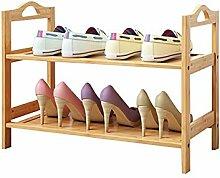 WXQIANG Étagère à chaussures en bois - 3
