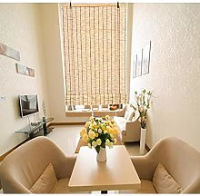 WXQIANG Rideau de fenêtre enroulable en bambou -
