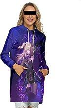 WXXT Sweatshirt Capuche,Genshin Impact Fischl Robe