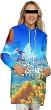 WXXT Sweatshirt Capuche,Genshin Impact Robe