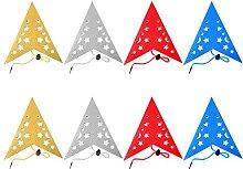WYDM 8pcs Papier étoile lanternes 5 Branches