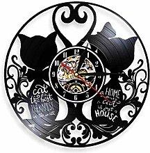 WYDSFWL Horloge Murale enregistreur Horloge 12