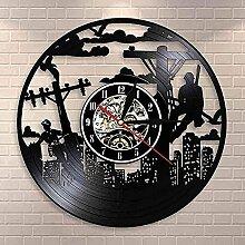 WYDSFWL Horloge Murale Vie électrique Juge de