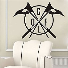 WYFCL Golf Club Logo Sticker Mural Vinyle