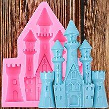 WYNYX 3D château Silicone MouleFondant