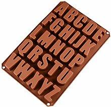 WYNYX Chiffres Symboles Forme gâteau en Silicone