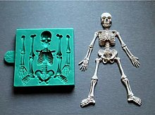 WYNYX Squelette Halloween Squelette Corps Fondant