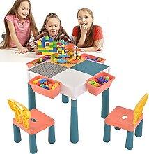 WZFANJIJ Table et Chaise Enfant, Multi-activités