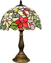 Wzglod Tiffany Lampe de Table rétro lumières de