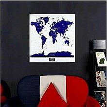 WZhen 1 carte du monde de voyage à gratter avec