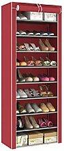 WZhen Étagère à chaussures 10 niveaux 9