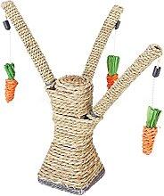 WZHSDKL Chats grattoir arbre jouant à la corde