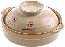WZHZJ Marmite à soupe Crock Pot en céramique