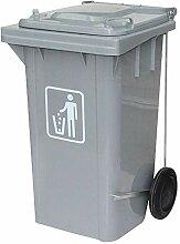 WZP-K Poubelle-poubelle d'extérieur, gris