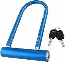 X-DREE Sécurité pour vélo Bleu métallique