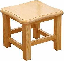 XAGB B-chairs Tabouret de table basse en bois
