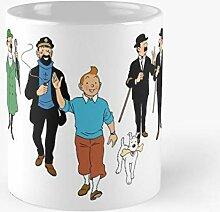 XCNGG Tintin - Meilleure tasse en céramique de 11